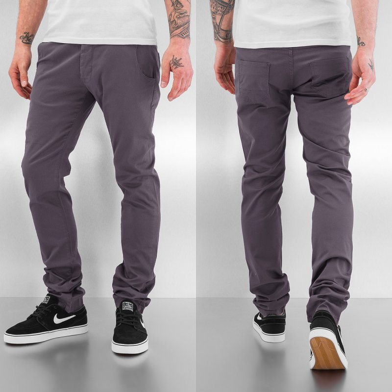 Just Rhyse kalhoty Chino Basic Grey - 368825