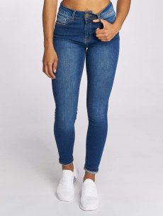 Just Rhyse High Waisted Jeans Buttercup, modrá