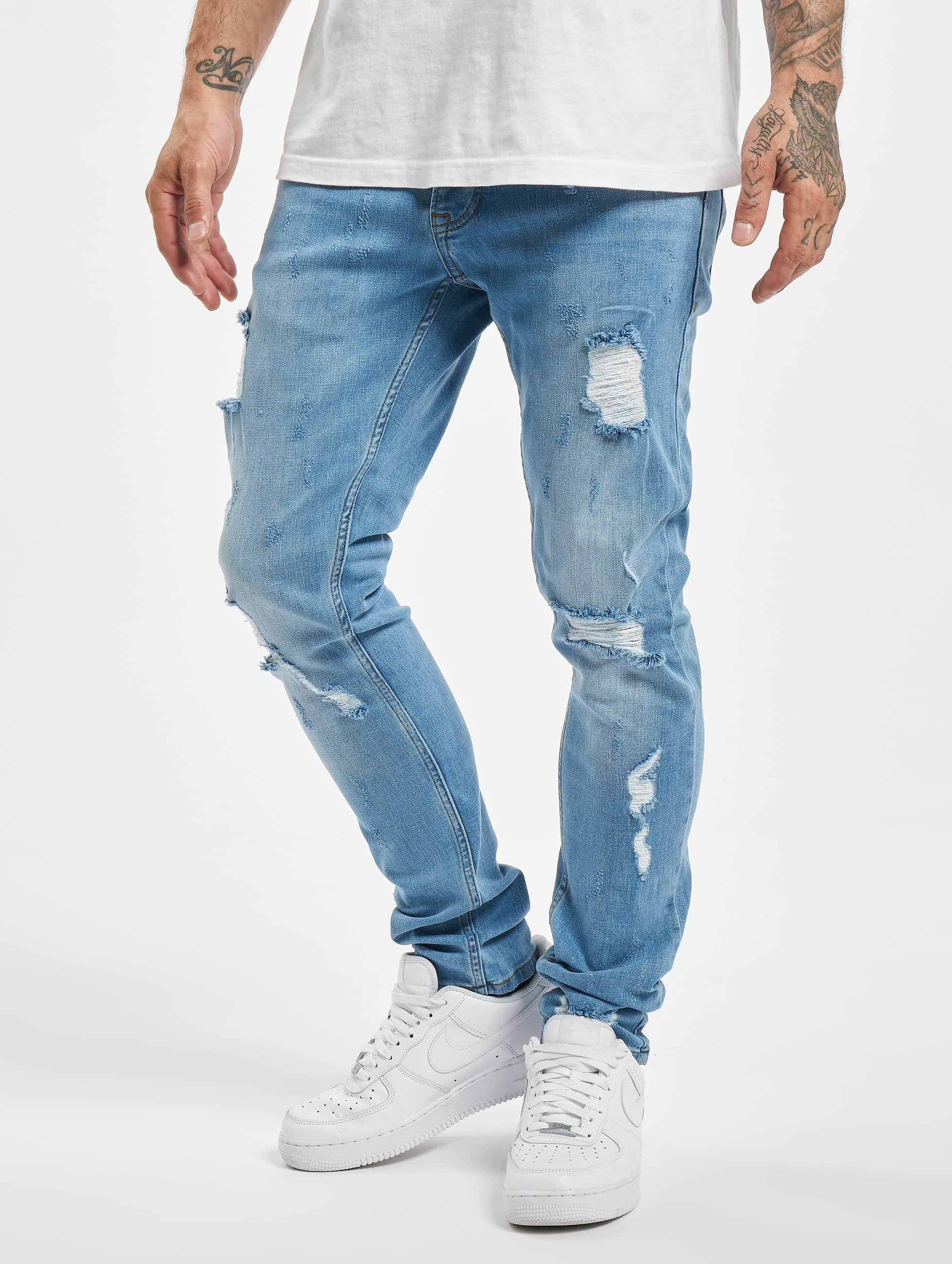 2Y Slim Fit Jeans Claudio, modrá - 258848
