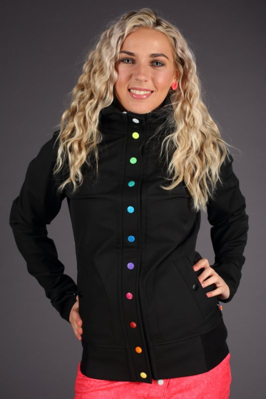 Atom Rat bunda Snap Rainbow Black - 372480