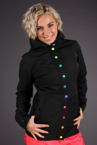 Atom Rat bunda Snap Rainbow Black - 372481