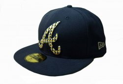 New Era kšiltovka Metrika Atlanta Braves