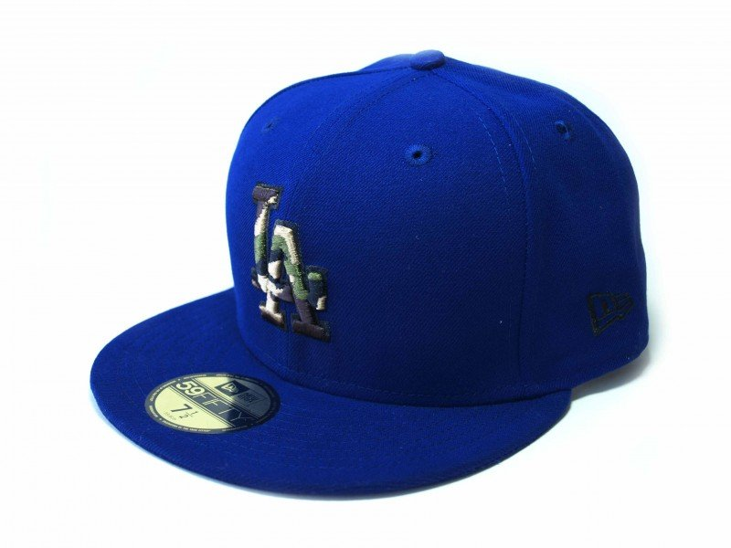New Era  Camo Fill  LA Dodgers - 5197