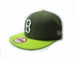 New Era  Block 4 Boston Red
