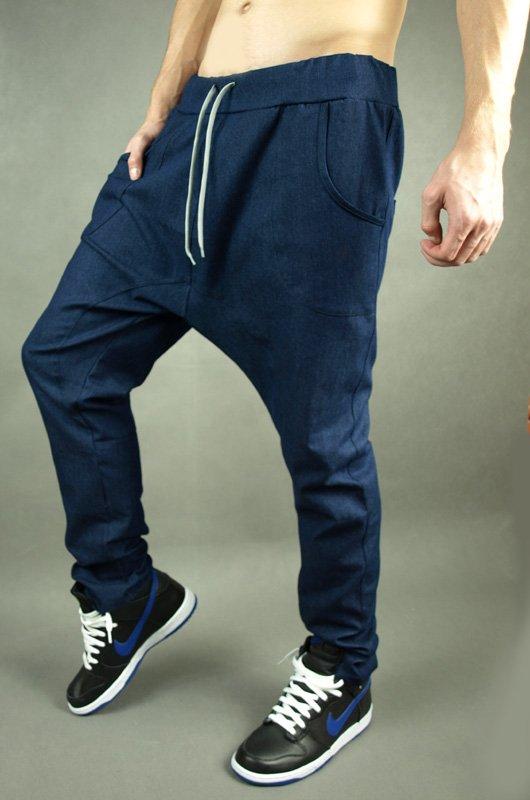Kalhoty West Street blue - 175459 5d0be52cd0